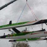 Новый парусный тримаран SODEBO 3 спущен на воду
